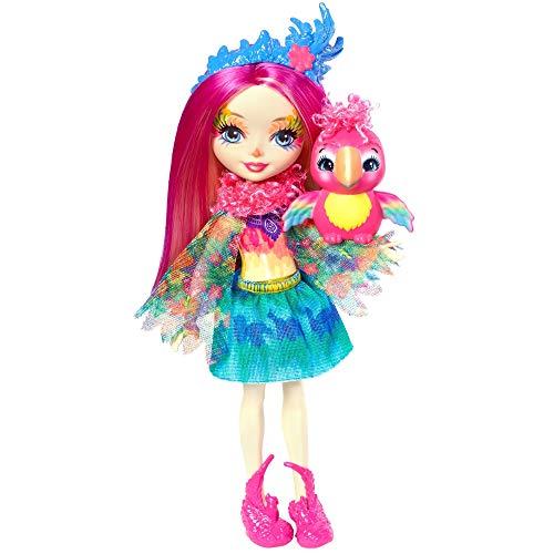 Enchantimals FJJ21 Papageienmädchen Peeki Parrot Puppe