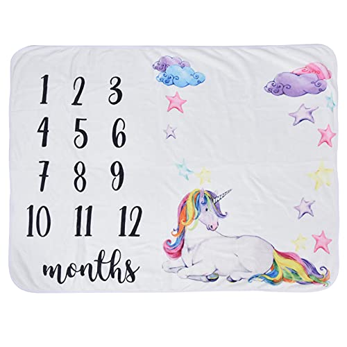 Baby-Foto-Hintergrund-Decke, leichte Meilenstein-Decke tragbar für die Fotografie zu Hause