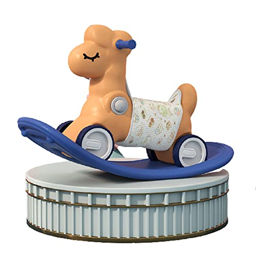 GUOGUODA Kinder Schaukelpferd Baby Schaukelpferd Baby Schaukeltier Schaukel Drache Spielzeug mit Musik für Kinder ab 18 Monate Kinder Schaukelpferd Baby Schaukeltier hochwertige Materialien