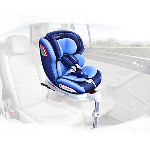 RUBAPOSM Kinderautositz, Babyschale, mehrschichtiger Schutz, 360° drehbar. Passend für alle Autositze.