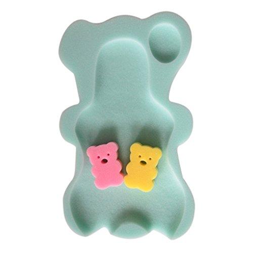 Guangcailun 9 Farben Schwamm-Baby-Badematte Anti-Rutsch-Schwamm-Baby-Badewanne Baby-Matte Anti-Rutsch-Badewanne Baby-Badewanne Pad Neugeborene für Babypflege