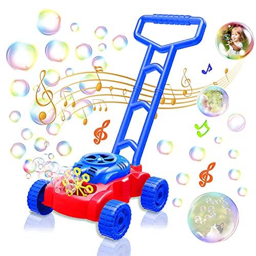 Sunshine smile Seifenblasenmaschine Für Kinder,Seifenblasen Kinder,Blasenspielzeug für Kinder,Bubble Macher Spielzeug,Seifenblasen Kinderspielzeug