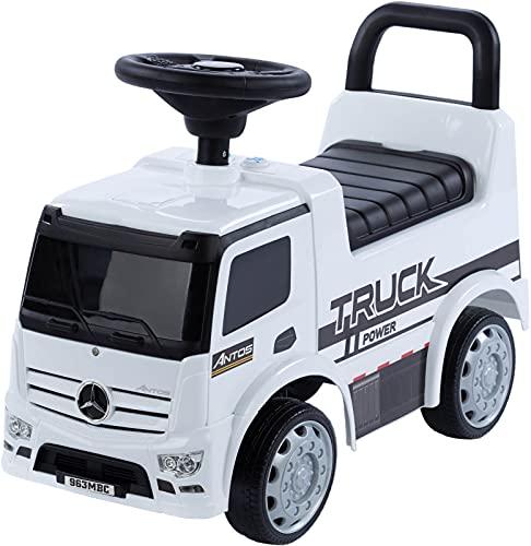 Rutschauto Mercedes LKW Truck Rutscher mit Licht und Sound ab 1 Jahr