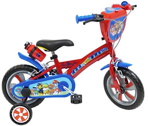 PAW PATROL Fahrrad für Kinder, Kinder, Pat' Patrouille, blau, 12'
