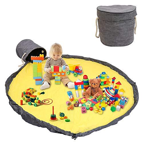 SONUG Aufbewahrung Beutel Spielzeug Oxford-Stoff, Spielzeug Aufbewahrung Tasche, Spielzeug Speicher Tasche, Spielzeug Aufbewahrung mit Deckel, Spielzeug Beutel, 150cm Großes Spielzeugsack