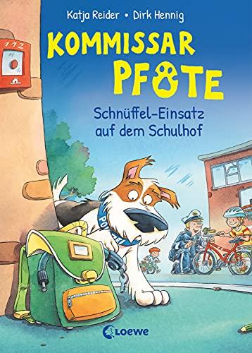 Kommissar Pfote (Band 3) - Schnüffel-Einsatz auf dem Schulhof: Lustiger Kinderkrimi zum Vorlesen und ersten Selberlesen ab 6 Jahre