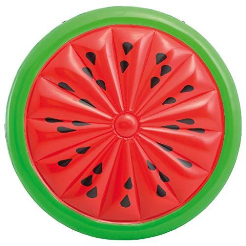 Intex 56283EU - Wassermelonenförmige aufblasbare Matratze 183 x 23 cm