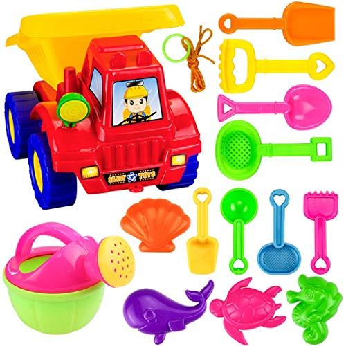 UYVBIAA Sandspielzeug Junge MäDchen, Sandkasten Spielzeug ab 1 Jahr, Buddelzeug SandföRmchen Sandmuschel Sandelsachen füR Kinder, Sandkasten Muschel Sandkastenspielzeug