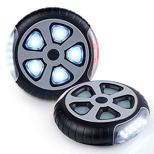 Drehbares Kinderwagenlicht mit Cliphalterung
