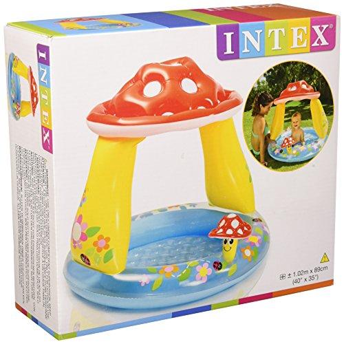 Intex 57114NP - Bad Babypilz Planschbecken, Mehrfarbig