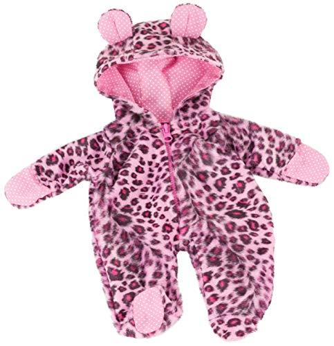 Götz 3403117 Onesie Cats Overall - Puppenbekleidung Gr. S - Bekleidungs- und Zubehörset für Babypuppen von 30 - 33 cm