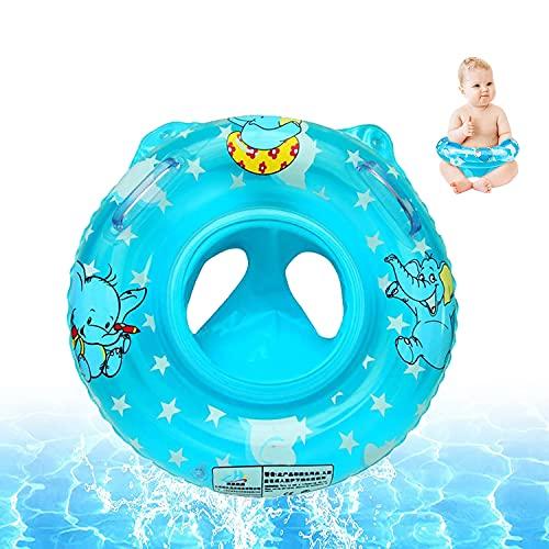 Schwimmring,Baby Schwimmen Ring Pool Baby Schwimmring Schwimmsitz Kleinkinder Baby Float,Baby Schwimmhilfen mit Schwimmsitz PVC für Kleinkind 3 Monate bis 36 Monate(Blau)