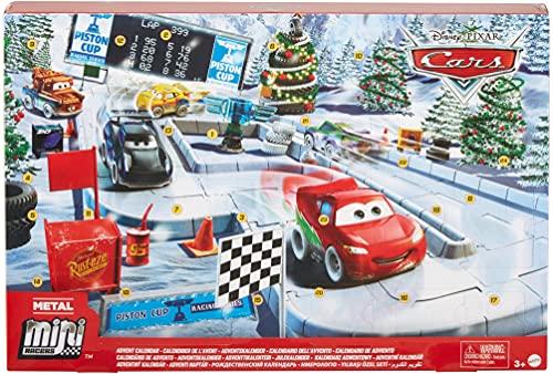 Disney Cars GPG11 - Disney Pixar Cars Minis Adventskalender