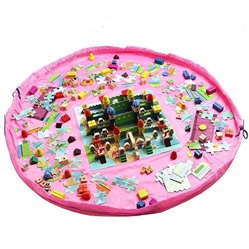 Tragbare Spielzeugmatte zum Verschließen