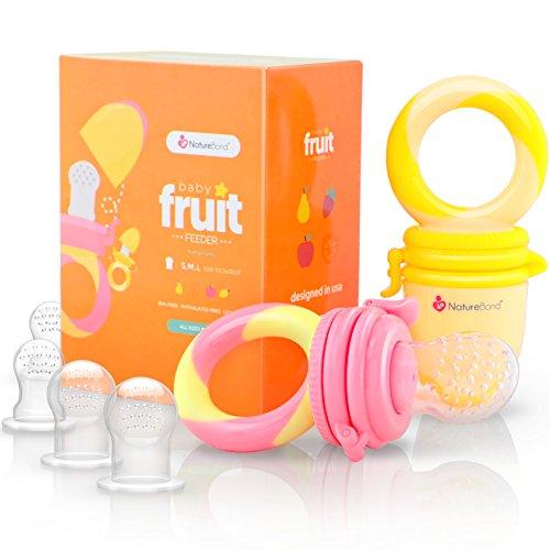 2 Fruchtsauger für Babys ab 3 Monaten