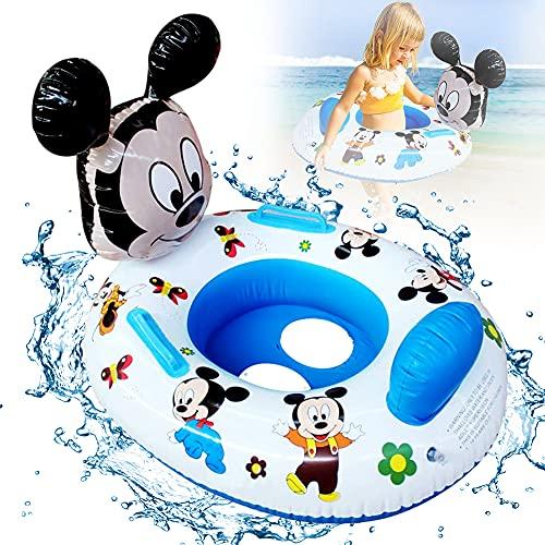 Baby Schwimmring, BESTZY Mickey Schwimmring Baby Float schwimmreifen Schwimmring Spielzeug Baby Schwimmen Sitz Aufblasbarer schwimmreifen für Babys unter 5 Jahren