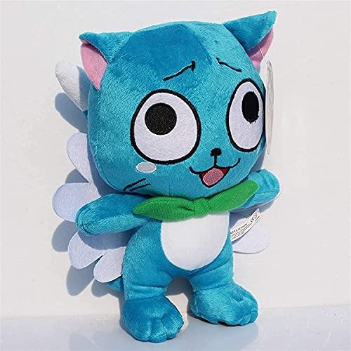 ZHNGG Kuscheltiere Plüschtiere Puppe Kuscheltiere Figur Spielzeug - 30cm Fee Plüschtiere Happy Blue Cat Weiche Kuschelpuppen Mit Etikett