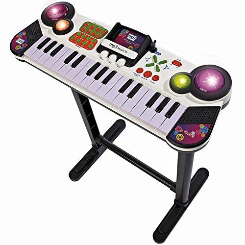 Simba 106832609 - My Music World Standkeyboard Pro, MP3-fähig, 31 Tasten, 67cm, ab 6 Jahren