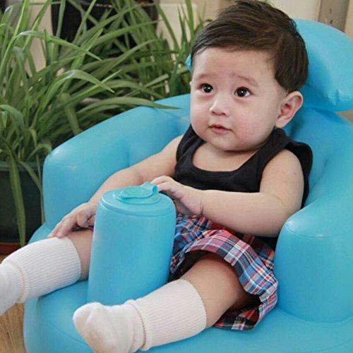 Sicherer Babysitz, Lernsitz, aufblasbar, Neugeborene, Spielzeug und Badeboot, Kleinkind, Sicherheit, multifunktionales Sofa, Baby, Abendessen, Hocker, tragbarer Stuhl für Babys