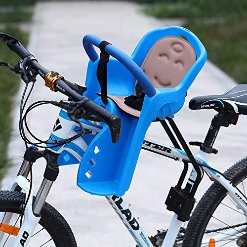 E-Bike Rücksitz für Kinder Mountainbike Kindersitz für Baby mit hoher Barriere, Blue 2
