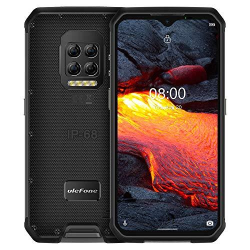 Armor 9E Android 10 Teléfono Resistente Helio P90 Octa Core 8GB 128GB 2.4G 5G WiFi Mobilene 6600mAh 64MP Cámara NFC Smartphone