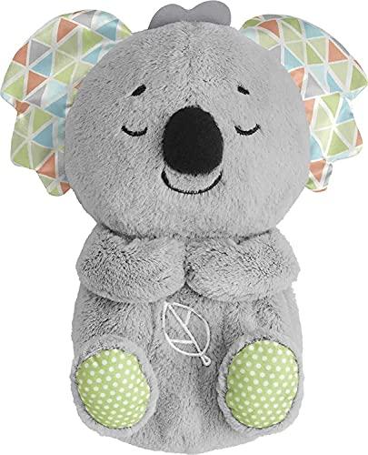 Fisher-Price GRT59 - Schlummer-Koala, musikalisches Kuscheltier mit realistischen Atembewegungen, für Babys und Kleinkinder, ab 0 Jahren
