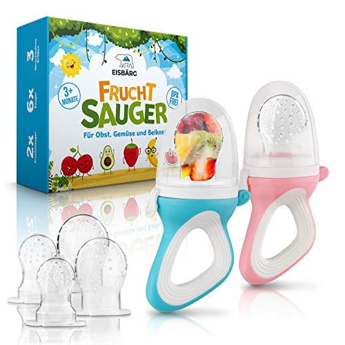 EISBÄRG® Fruchtsauger Set mit ergonomischem Griff