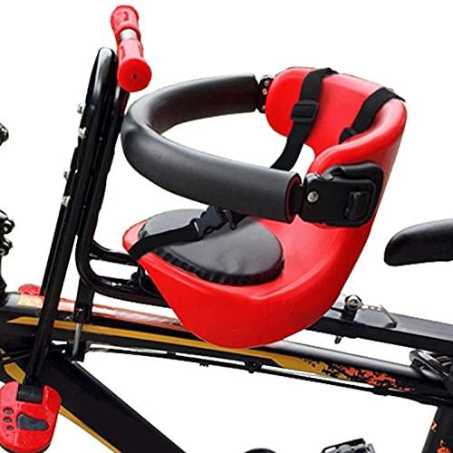 Massage-AED Vorneliegender Fahrradsitz für Kinder,Frontmontierter Fahrradsitz, Universal Kinderfahrradsitz Kindersitz Fahrradträger Kinderfahrradträger Vordersitz Angewendet