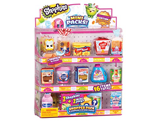 Shopkins hpkd9000 Mini Shopper Pack, Sortiert