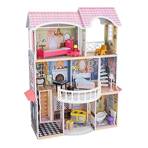 KidKraft 65907 Puppenhaus Magnolia Mansion, Bunt