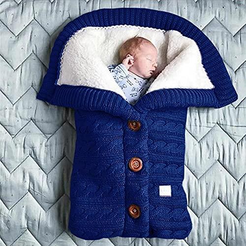 PUREBAUTY Kinderwagen Schlafsack Baby schlafsack Neugeboren Winter Wickeldecke Schlafsack Kinderwagen Decke für Babys Neugeboren von 0 bis 12 Monaten