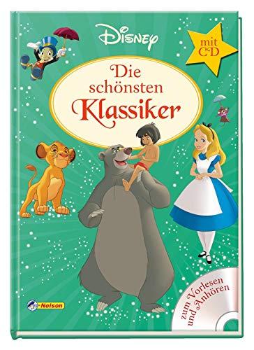 Disney Klassiker: Die schönsten Klassiker mit CD: Zum Vorlesen und Anhören!