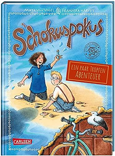 Schokuspokus 5: Ein paar Tropfen Abenteuer: Ein schokoladiges Krimiabenteuer für Leseanfänger*innen ab 7 Jahren.