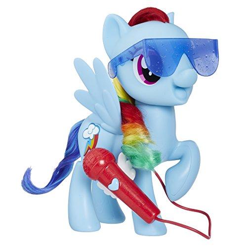 Hasbro E1975100 Großartig Singende Rainbow Dash, Puppe