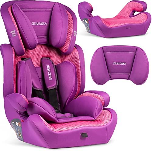 Baby-Autositz | Kinder-Autositz | Kleinkind-Autositz 15-36 kg |Verstellbare Kopfstütze Kinder-Autositz