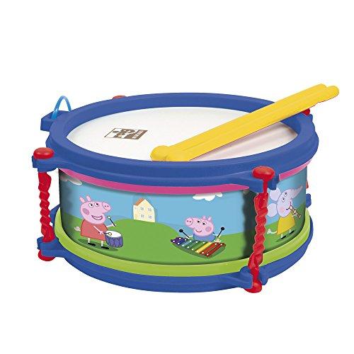 Reig Musicales 2340 Trommel Peppa Pig, Milticolour