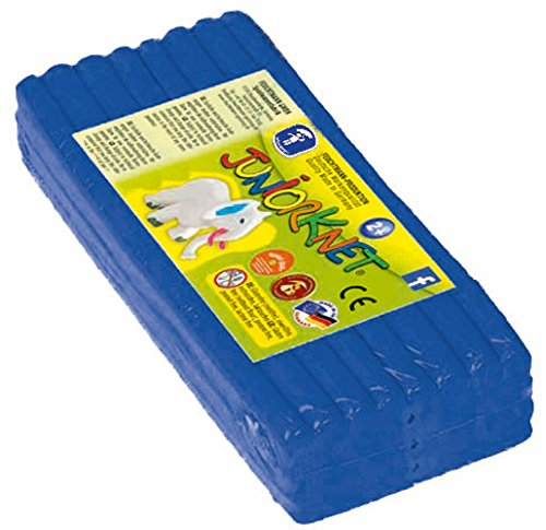 Feuchtmann 628.0305-13 - JUNiORKNET Jumbo Pack, 32 Stangen, geschmeidige Knete 2+, ca. 500 g, dunkelblau, ideales Geschenk für kreatives Spielen