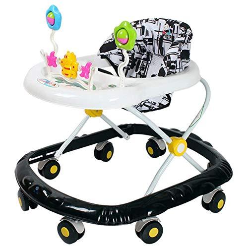 SHRFC Baby Walker für Jungen und Mädchen mit Aktivitätsspielzeug, höhenverstellbar mit Tablett und 360 ° Universalrad, Lauflernhilfe für Aktivitäts-Walker für Kleinkinder