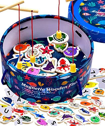 Jaques of London Angelspiel   Spielzeug ab 2 Jahre   Magnetspiel   Angelspiel Für Kinder ab 2 3 4 Jahre   Seit 1795
