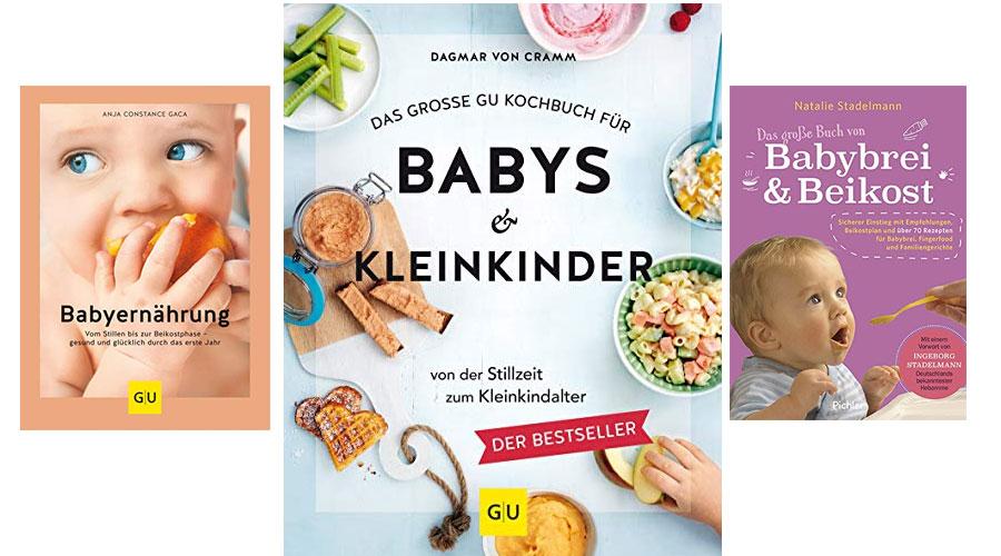Bücher über Baby Ernährung