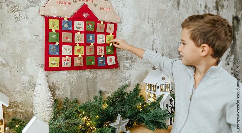 Jungen Weihnachtskalender