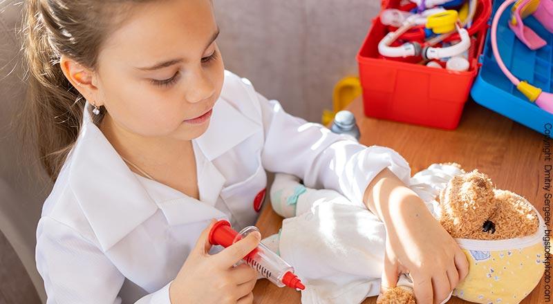 Doktorkoffer für Kinder