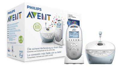 Babyphones mit Musik und Sternenhimmel