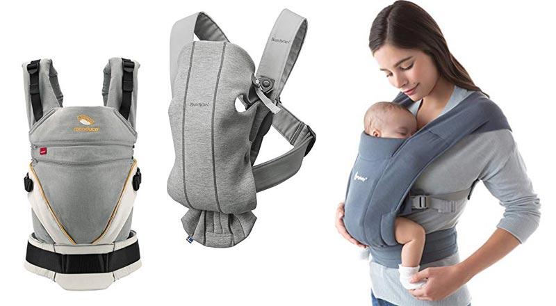 Babytrage mit Neugeboreneneinsatz