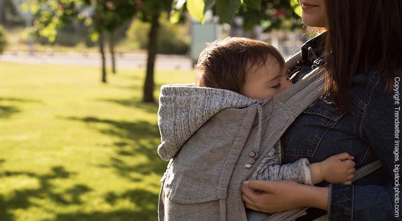 Tragehilfen für Mama und Babyy