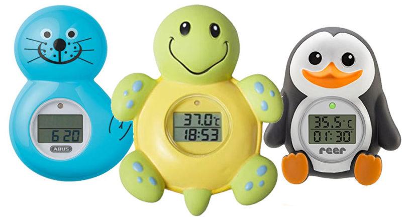 Wannenthermometer mit Alarm