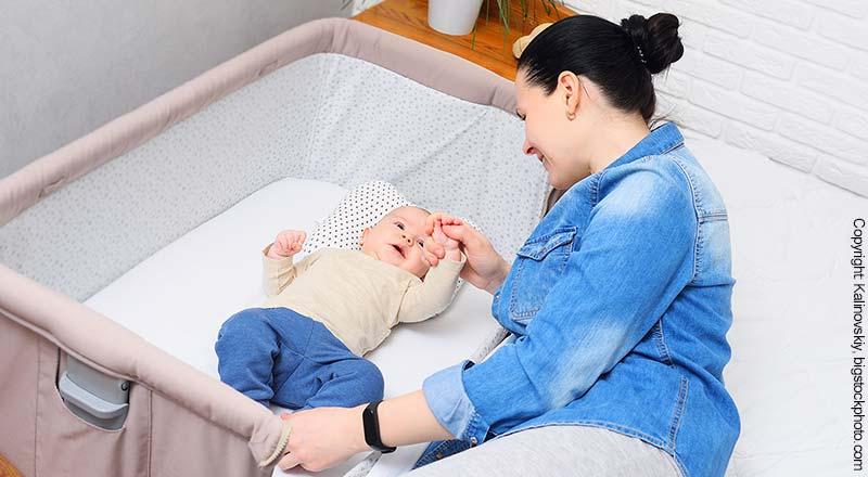 Zustellbett für Babys