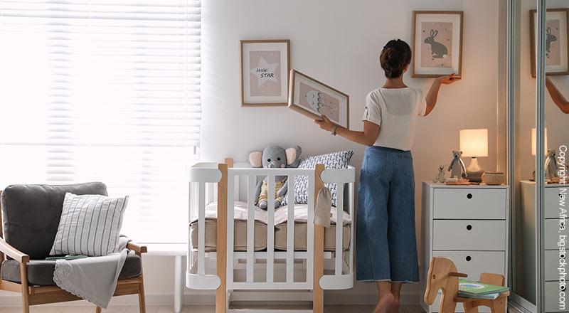 Wandbilder Babyzimmer