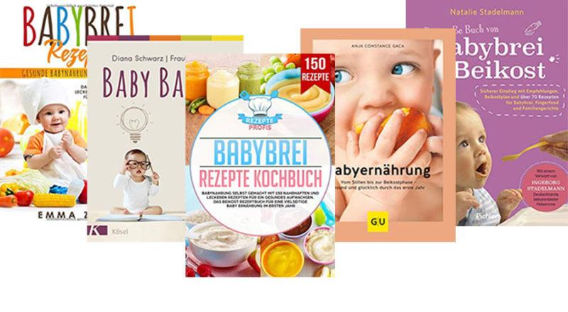 Ernährungbücher für Babys