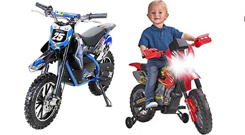 Kinder-Elektromotorräder